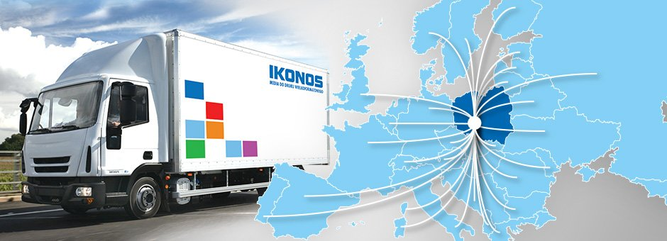 Ikonos materials are already in 36 countries of Europe!