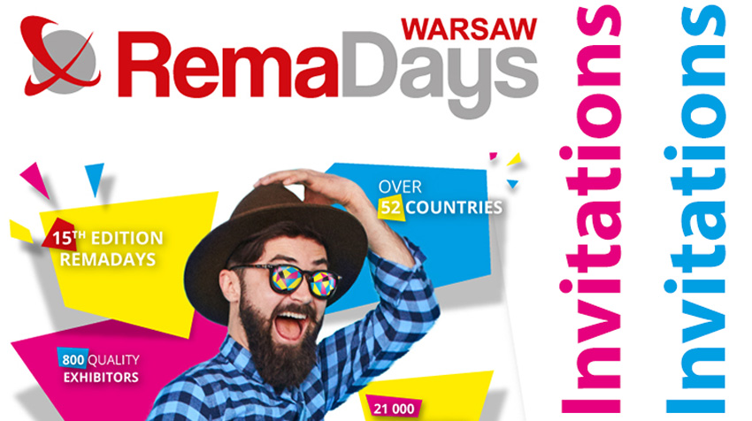 The invitations on RemaDays Warsaw