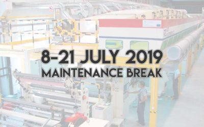 Maintenance break on July 2019