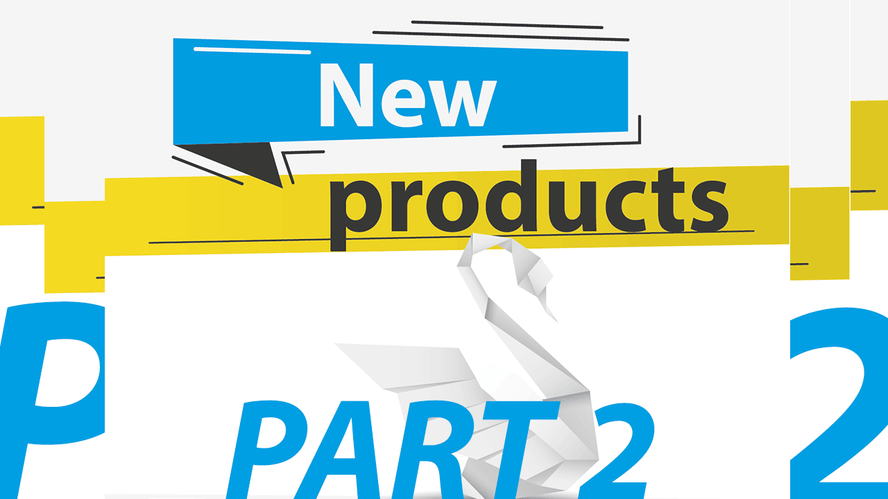 New LFP products 2019 - part 2 - cover with origami swan