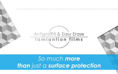 Lamination self-adhesive films for special tasks