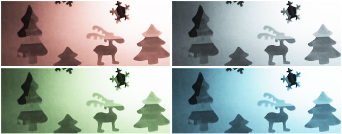 christmas decoration film color materials on glass