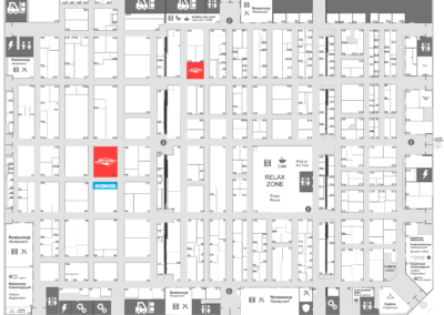 ikonos & atrium on remadays 2020 - hall F map