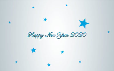 Plotter printing media for the Happy New Year 2020