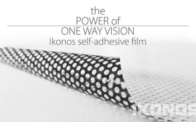 One Way Vision film – functional decoration and advertising in one