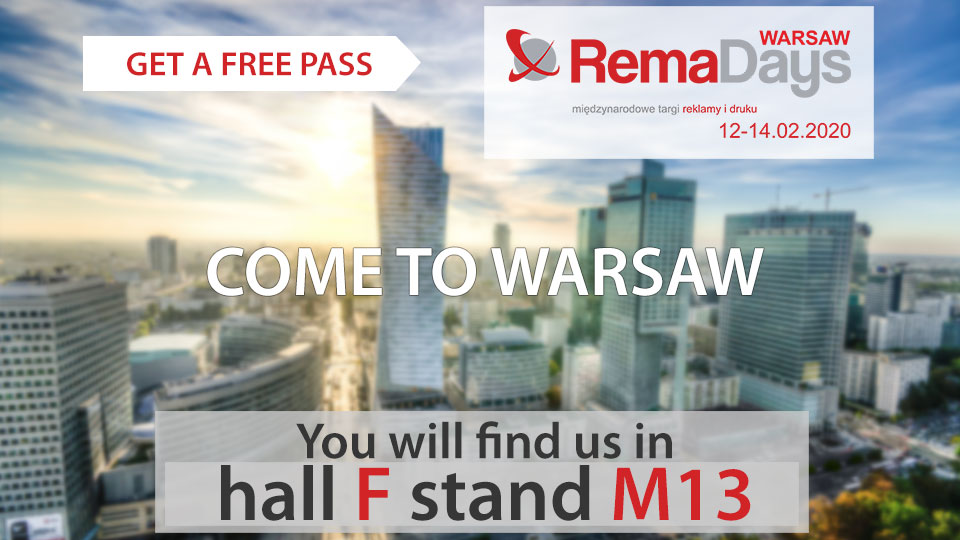 Free pass on RemaDays 2020 – meet with us in Warsaw