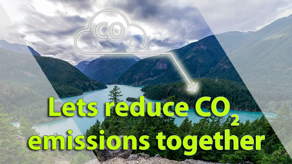 Contribute to reduce CO2 emissions news cover