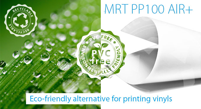 ikonos profiflex pro mrt pp100 air, close up on pvc-free material with macro photo vignette structure