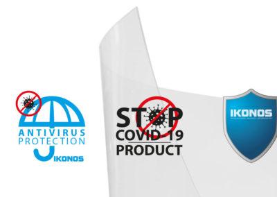 Ikonos Anti-COVID-19 PET-250 film protection