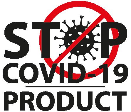 stop Covid-19 product ikonos logo
