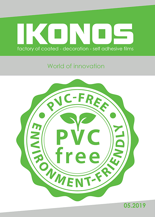 PVC-free printing media catalog cover 2019
