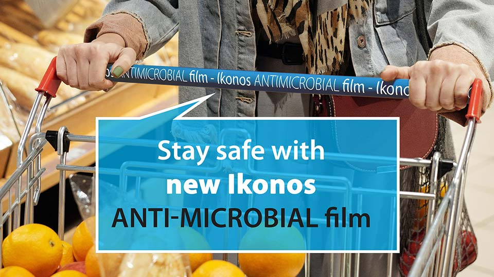 Anti-microbial & antibacterial self-adhesive lamination film for safety purposes