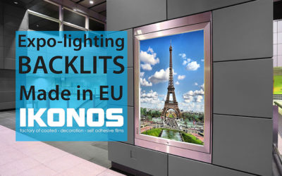 Ikonos backlits for professional expo-lighting – wide format printing