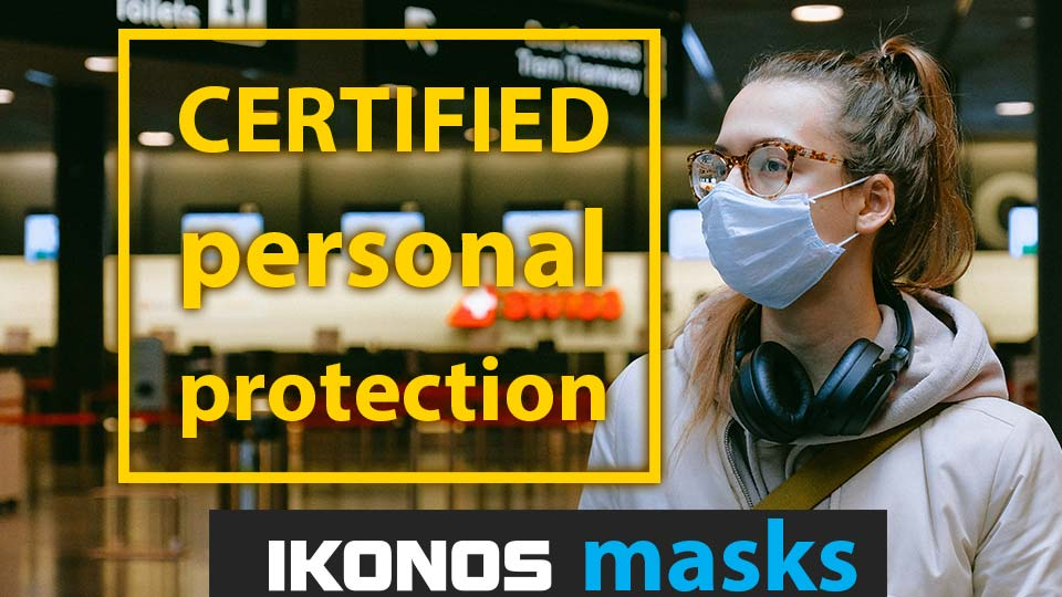 Certified face protection – Ikonos masks