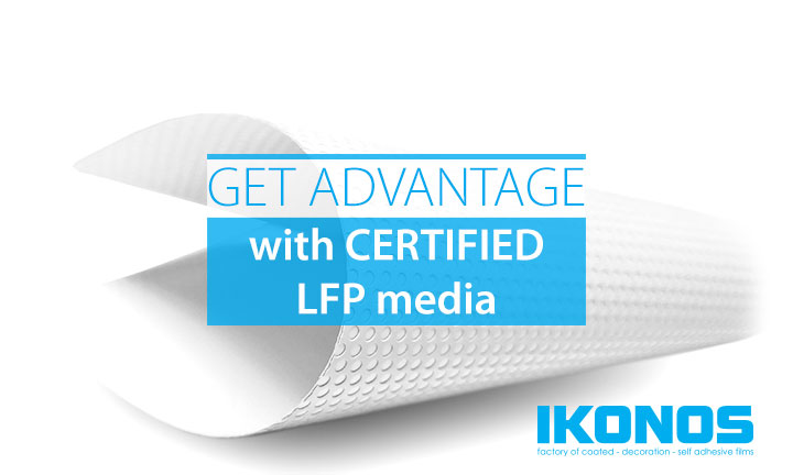 Certified LFP media advantages – wide format printing power