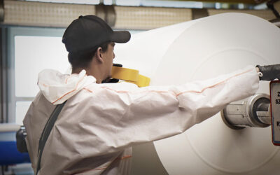 Jumbo roll direct printing delivers advantage