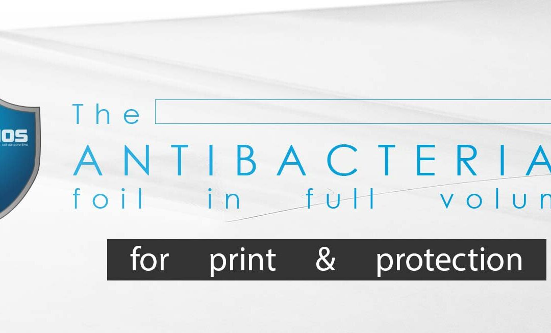 The long lasting antibacterial properties of the new foil