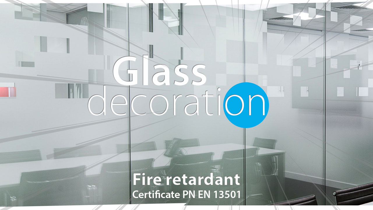 frosted effect window glass decoration news cover