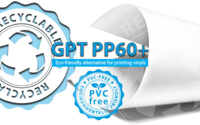 New PVC-free printing film – the game changer on the lfp market
