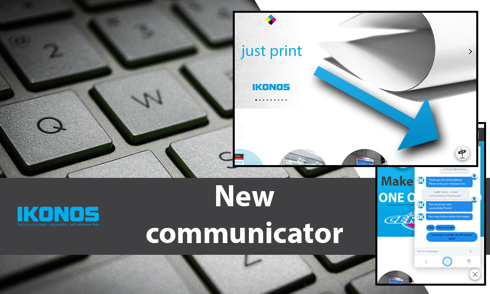 Closer to high-quality large format printing media – the new communicator