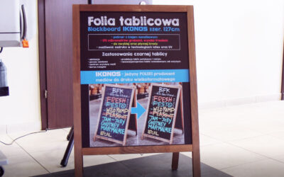 Innovative blackboard foil for creativity & brainstorming