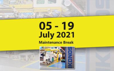 Maintenance break on July 2021 – to improve LFP media production