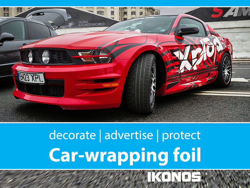 Advertising on a car and decorating it with wrapping foil – is it eco-friendly?